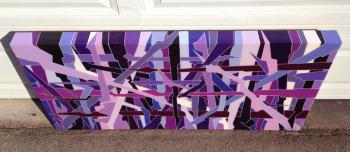 Weaponized 4 Solid artwork by Steven Michael OConnor - art listed for sale on Artplode