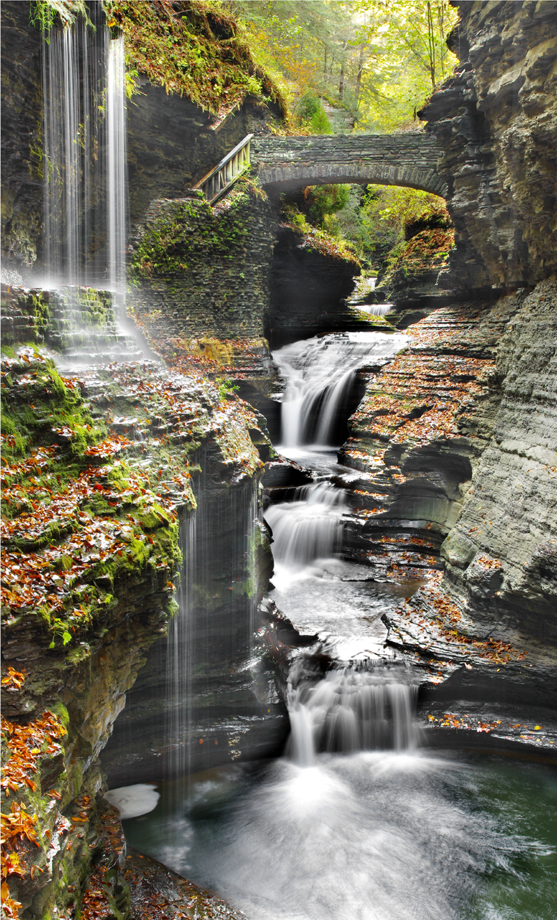 Fairy Tale Falls artwork by Kenneth Lane Smith - art listed for sale on Artplode
