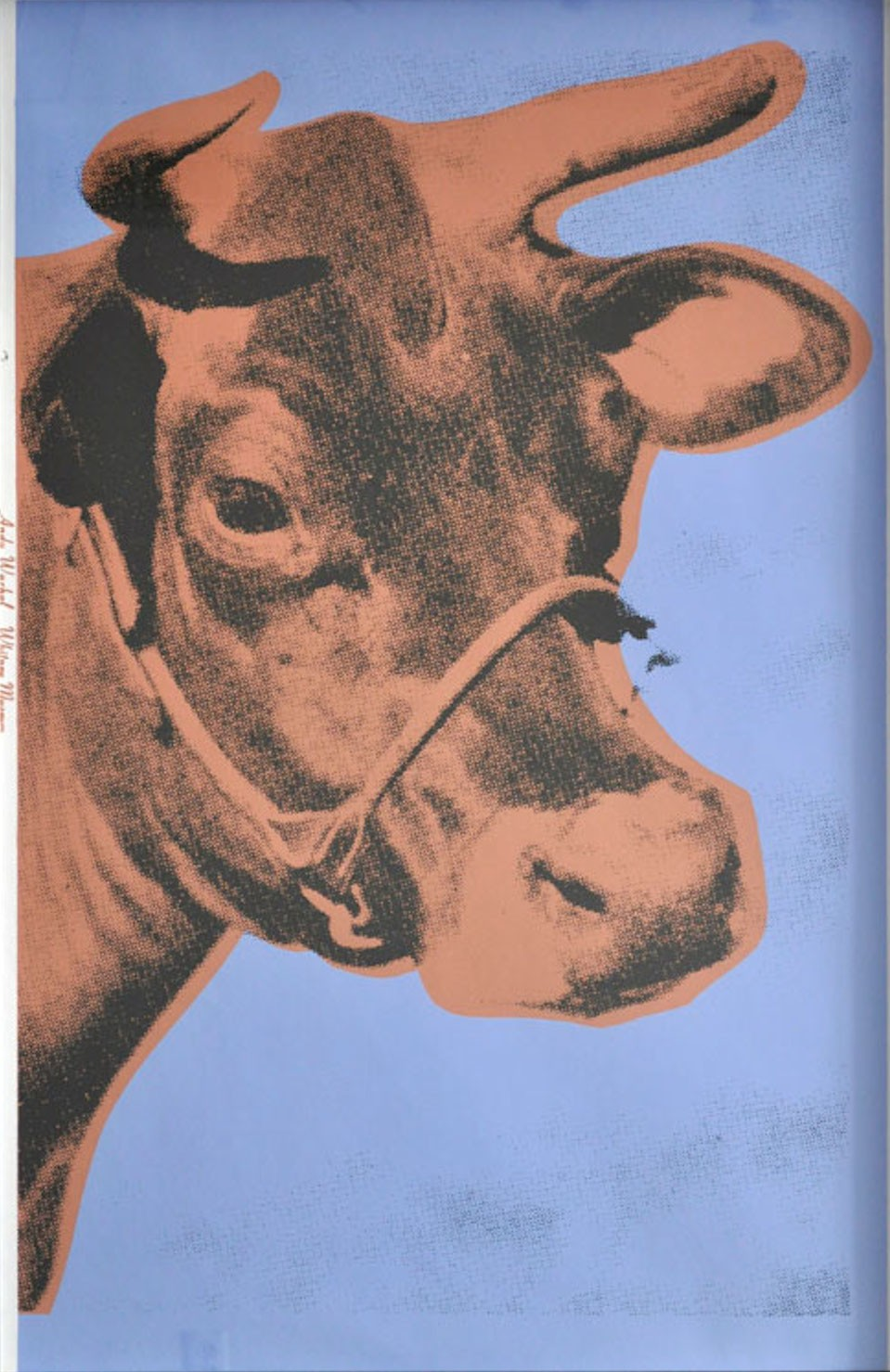Cow FS II11A 1971 artwork by Andy Warhol - art listed for sale on Artplode