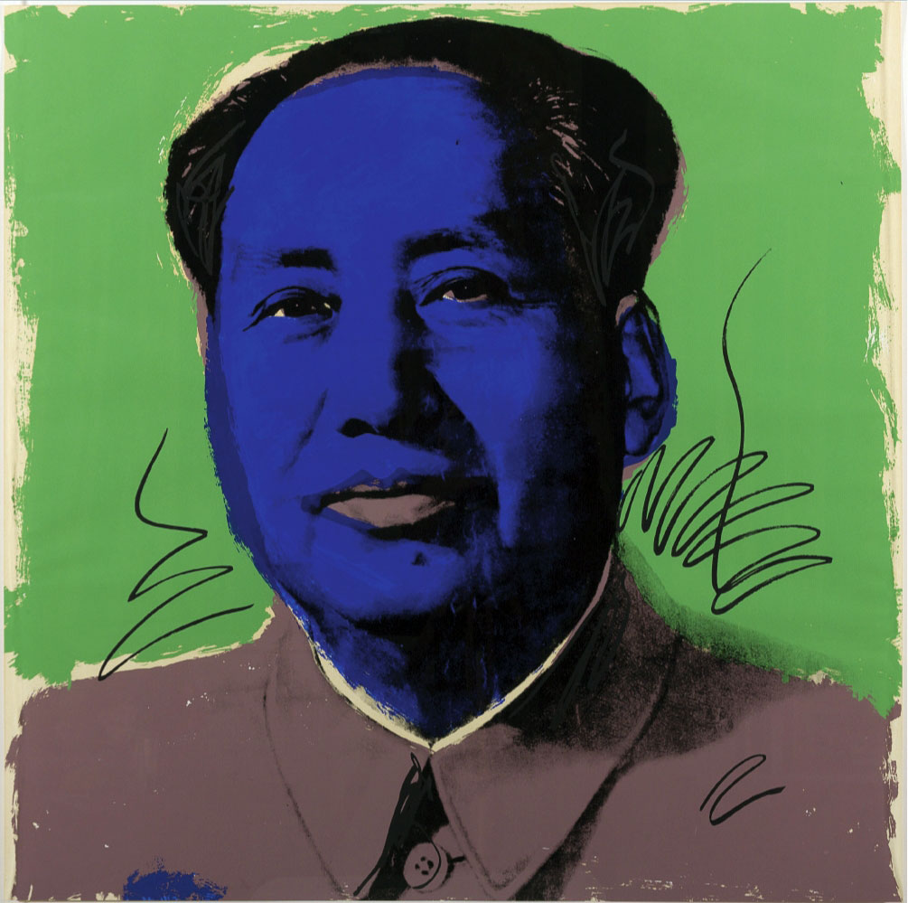 Mao FS II90 artwork by Andy Warhol - art listed for sale on Artplode
