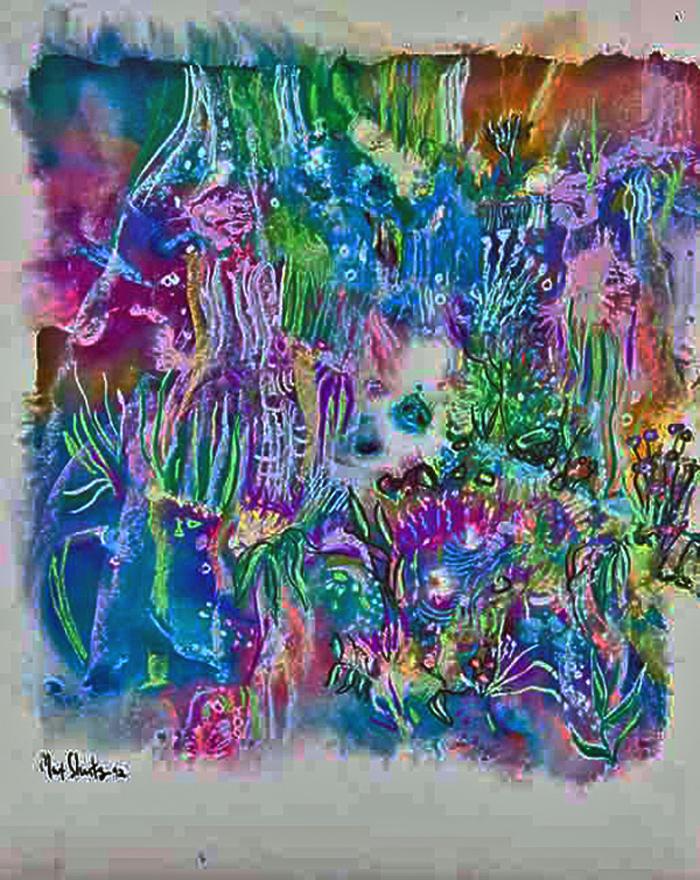 garden Treasure artwork by Max Shertz - art listed for sale on Artplode