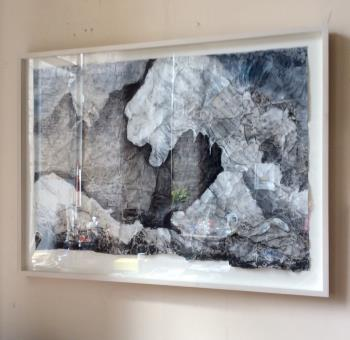 Himalayan Range artwork by Diana Terry - art listed for sale on Artplode