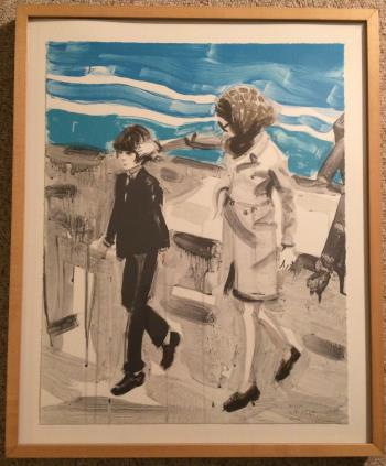 Jackie and John, art for sale online by Elizabeth Peyton