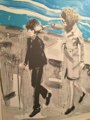 Jackie and John artwork by Elizabeth Peyton - art listed for sale on Artplode