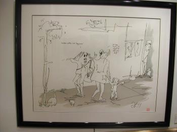Jazz Man, art for sale online by John Lennon