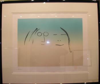 Two is One artwork by John Lennon