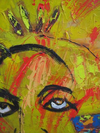Spirt Guide 3 artwork by Ginny Nagy - art listed for sale on Artplode