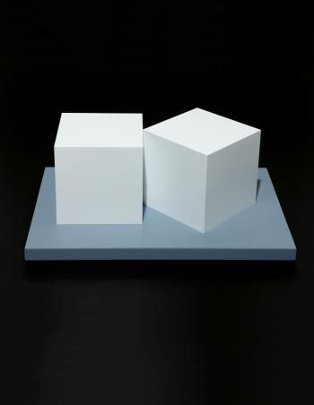 Two Cubes , art for sale online by Sol LeWitt