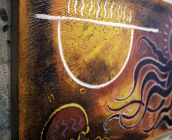 Octapus Garden artwork by Barry Scharf - art listed for sale on Artplode