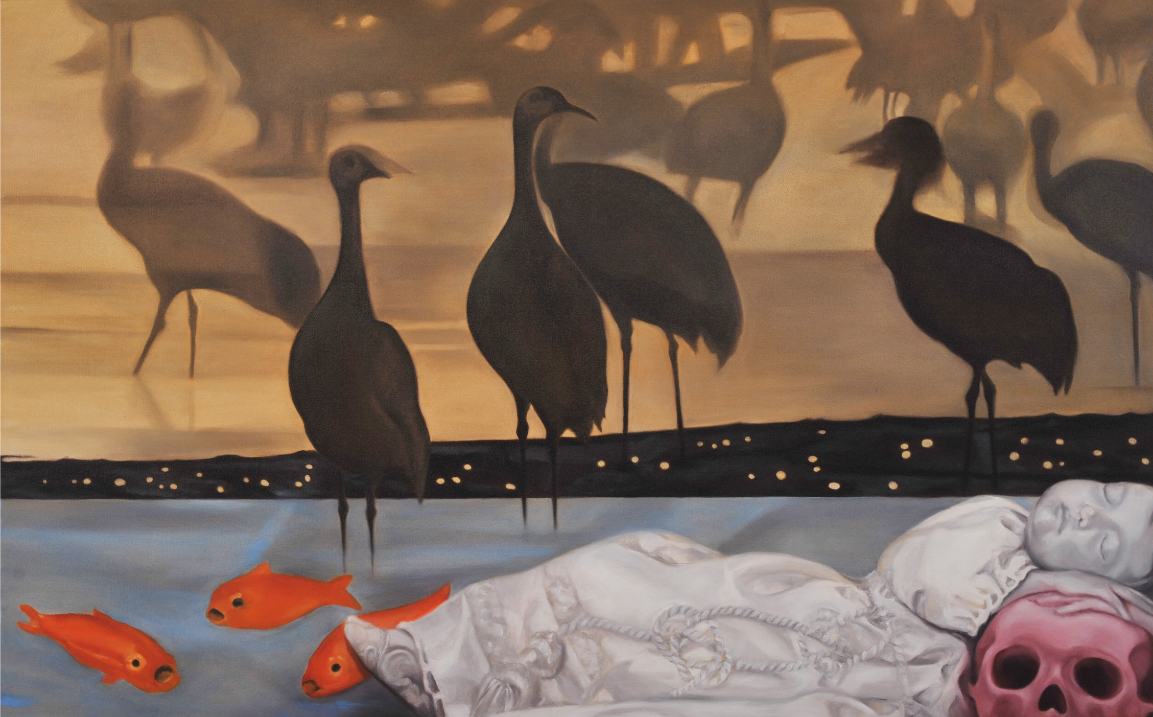 Still Wish You Were Here artwork by Pilar Acevedo - art listed for sale on Artplode