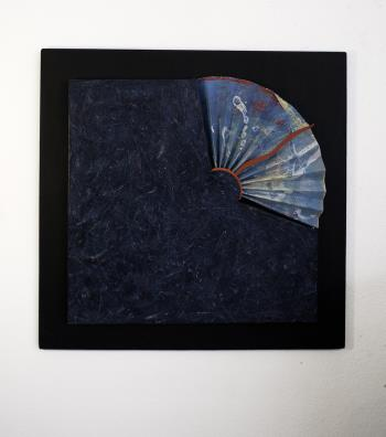 ROCK FAN artwork by Barry Scharf - art listed for sale on Artplode