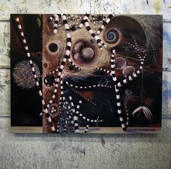 A Secret Place artwork by Barry Scharf - art listed for sale on Artplode