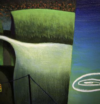 Last Spring artwork by Barry Scharf