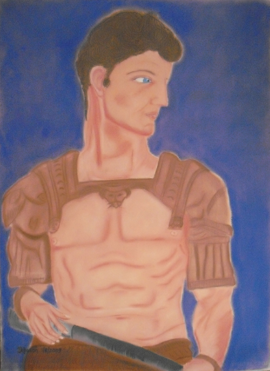 Guiliano de Medici artwork by Teresa Deborah Ryle - art listed for sale on Artplode