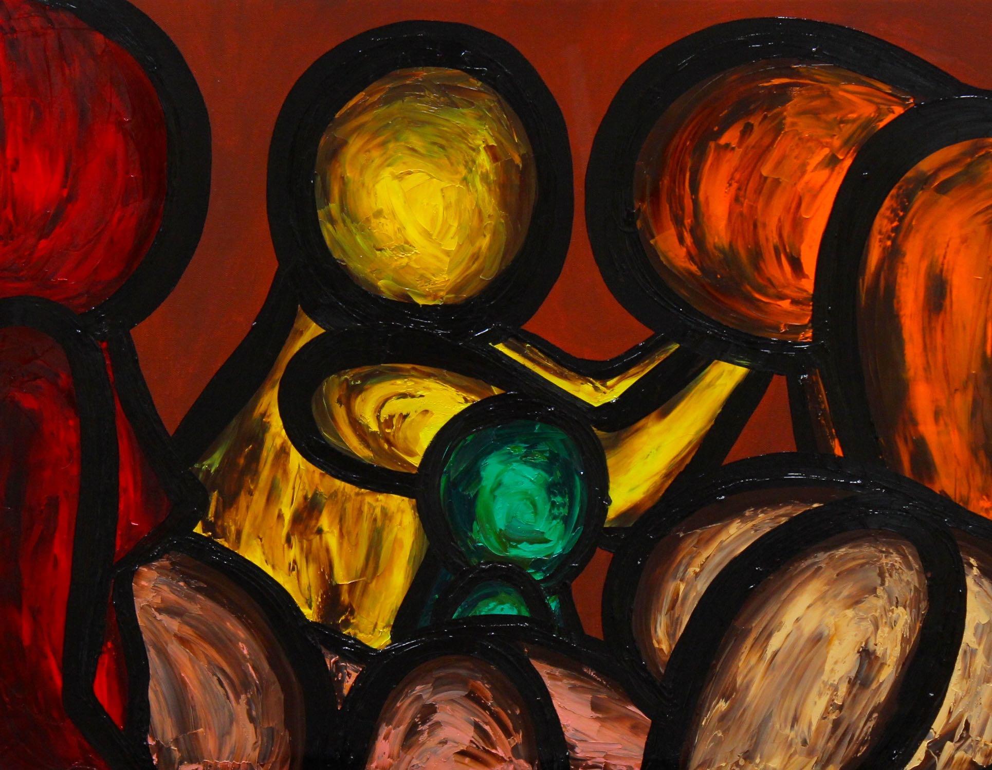 DEPARTURE artwork by FRANCESCO RUSPOLI - art listed for sale on Artplode