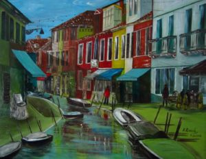 Venice., art for sale online by Elena Roush