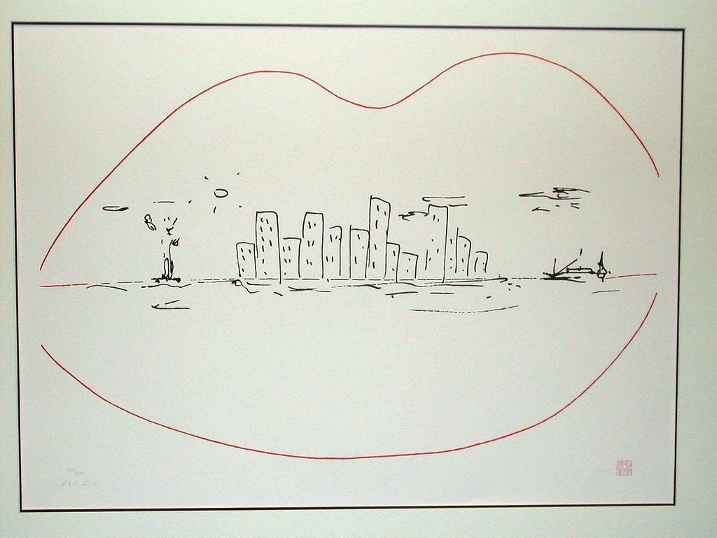 Land of Milk and Honey artwork by John Lennon - art listed for sale on Artplode