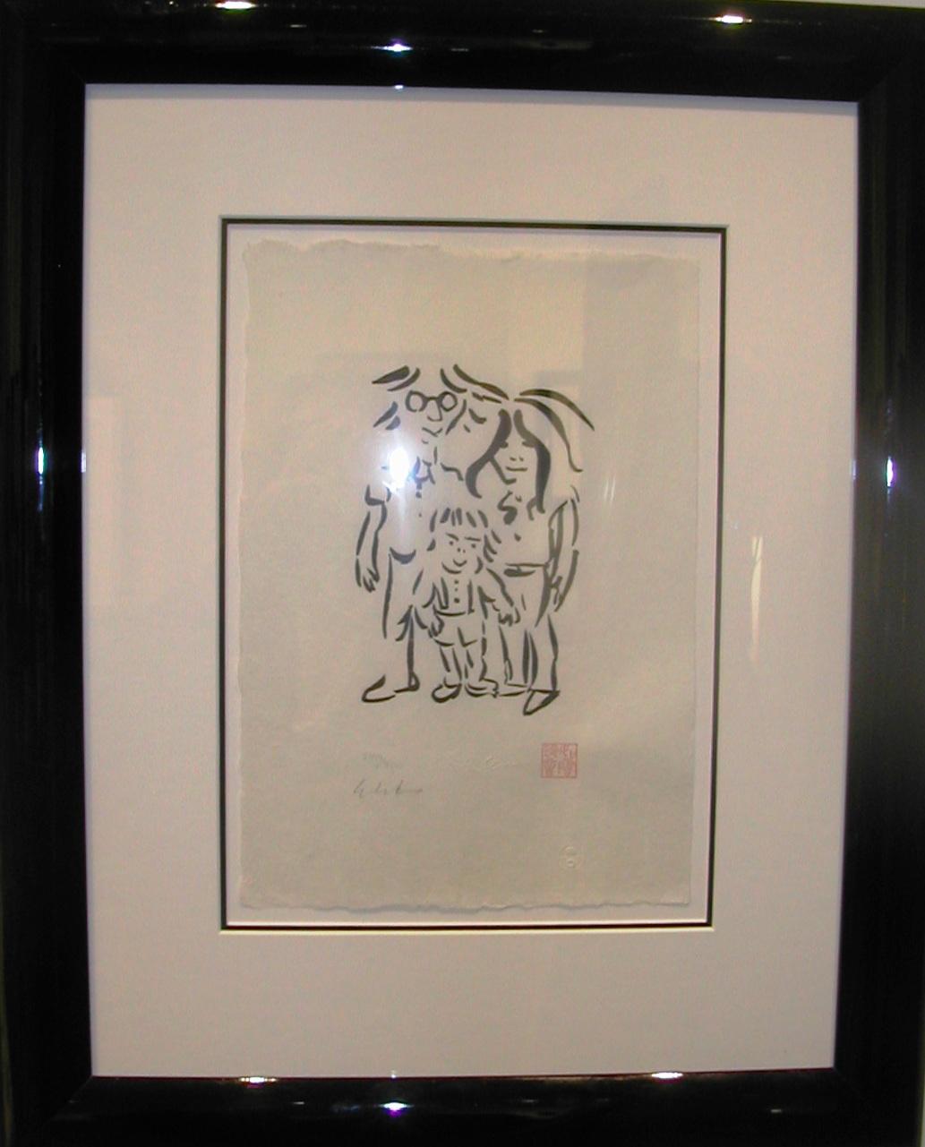 IMAGINE PEACE artwork by John Lennon - art listed for sale on Artplode