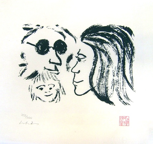 Family of Peace artwork by John Lennon - art listed for sale on Artplode