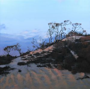 Napeague Twilight, art for sale online by RJT Haynes