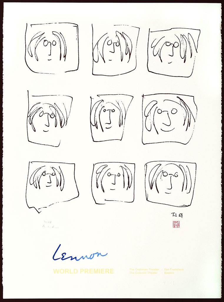 Lennon Broadhurst artwork by John Lennon - art listed for sale on Artplode