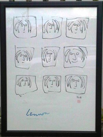 Lennon Broadhurst artwork by John Lennon