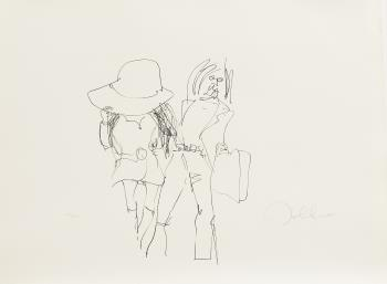 Honeymoon, art for sale online by John Lennon