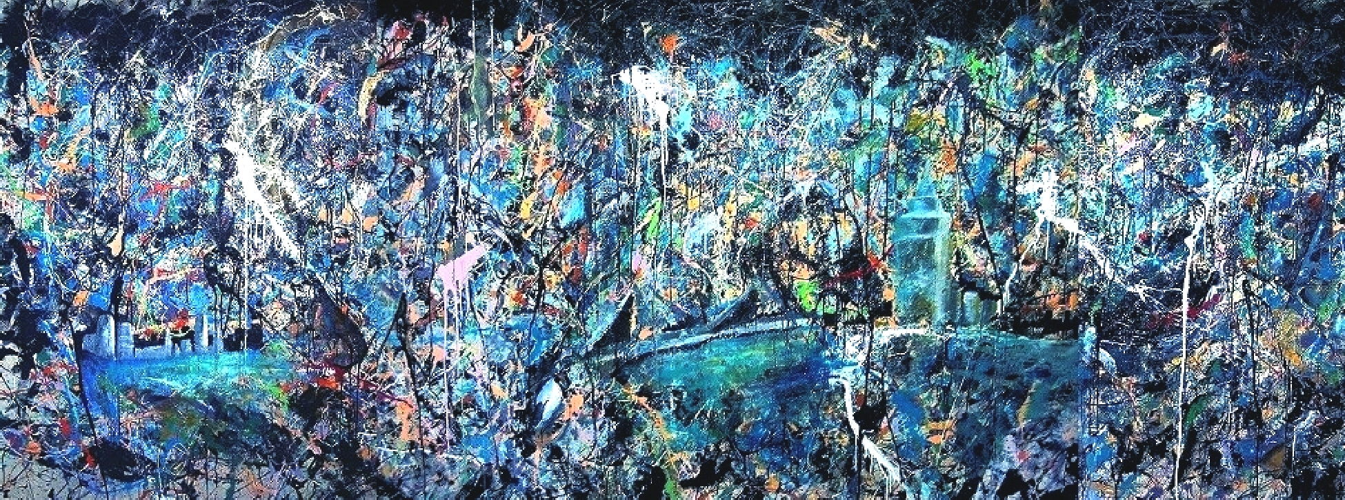 Its Not Dark Yet artwork by Steve Reinhart - art listed for sale on Artplode