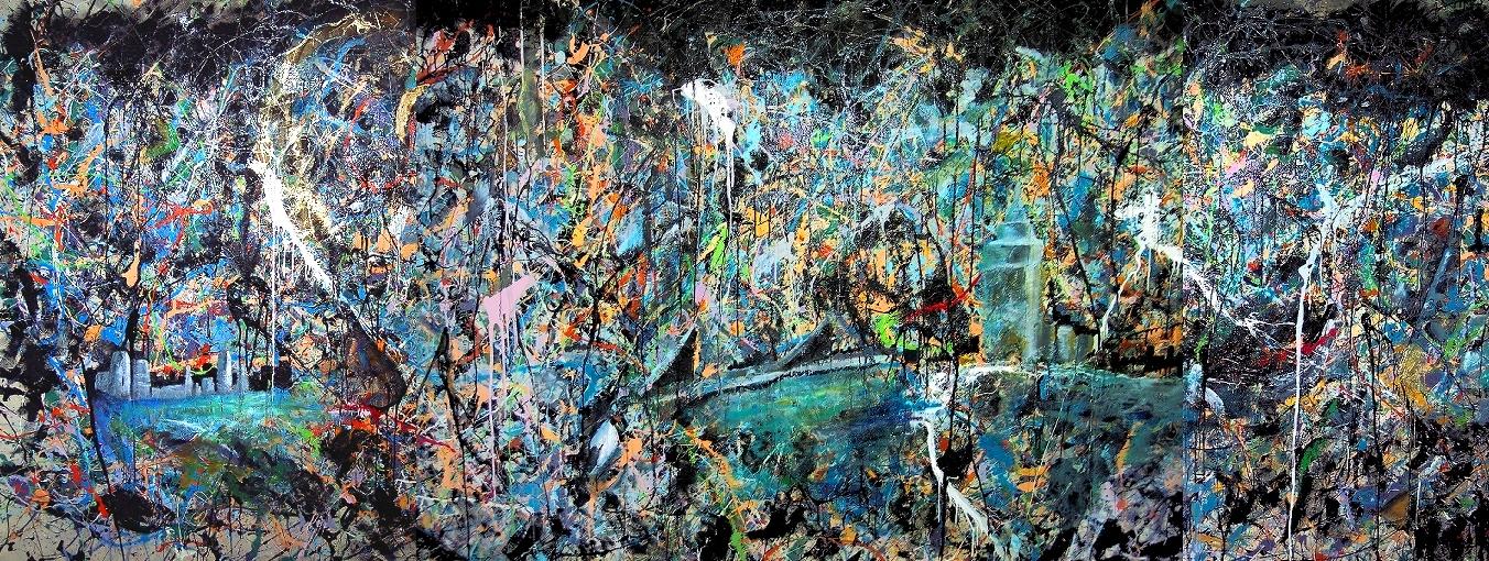 Its Not Dark Yet Artwork By Steve Reinhart Buy Art On