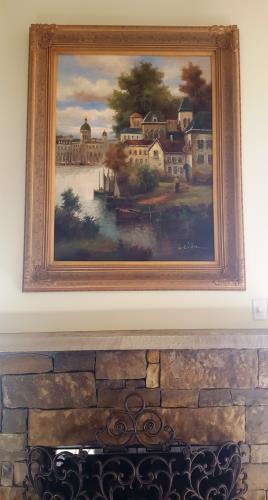 European Scene artwork by W Eddie - art listed for sale on Artplode