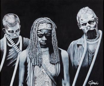 The Trio, art for sale online by Gilson Lavis