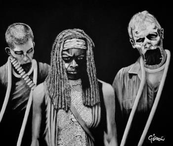 The Trio artwork by Gilson Lavis