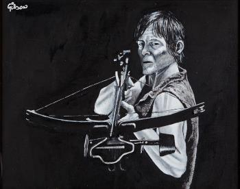 Daryl, art for sale online by Gilson Lavis