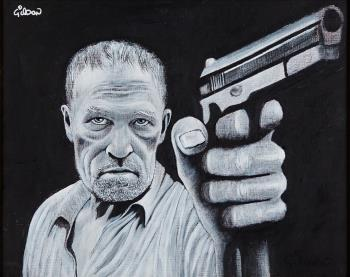 Merle, art for sale online by Gilson Lavis