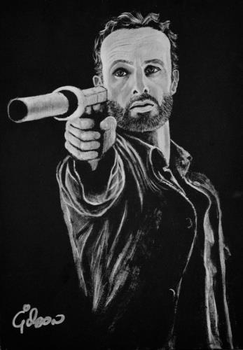 Rick artwork by Gilson Lavis