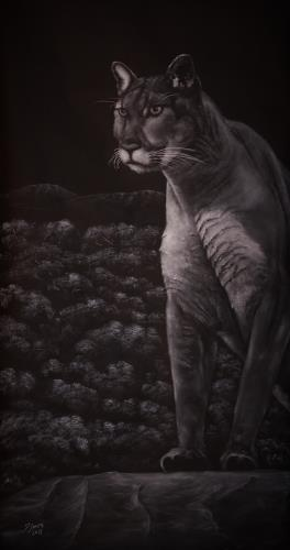 Cool For Cats, art for sale online by David Swope