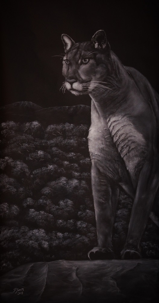 Cool For Cats artwork by David Swope - art listed for sale on Artplode