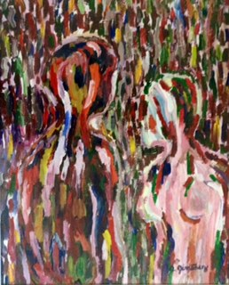 Encounter artwork by Annette Jimenez - art listed for sale on Artplode