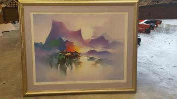 Shangriala artwork by H Leung - art listed for sale on Artplode