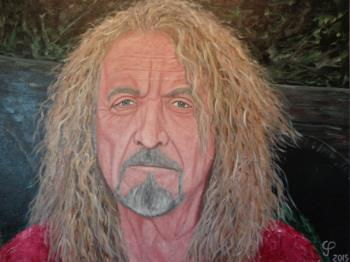 Robert Plant, art for sale online by Chris Prestegaard