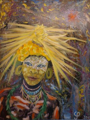 Robert Plant artwork by Chris Prestegaard - art listed for sale on Artplode