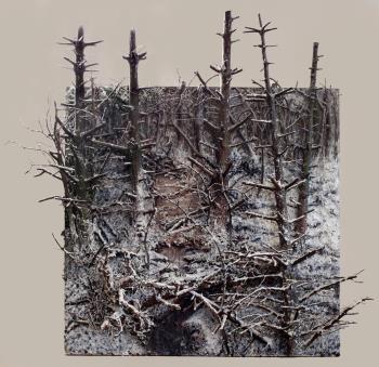 Snow Scene, art for sale online by Dariusz Romanowski
