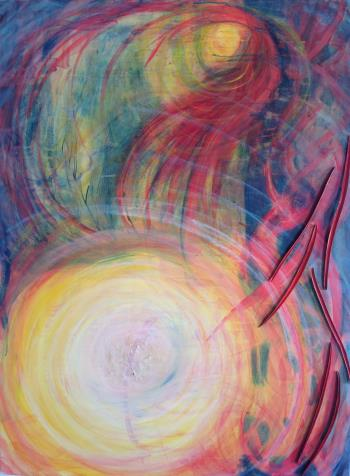 Breakthrough artwork by Jeanne Coorlim Vella - art listed for sale on Artplode