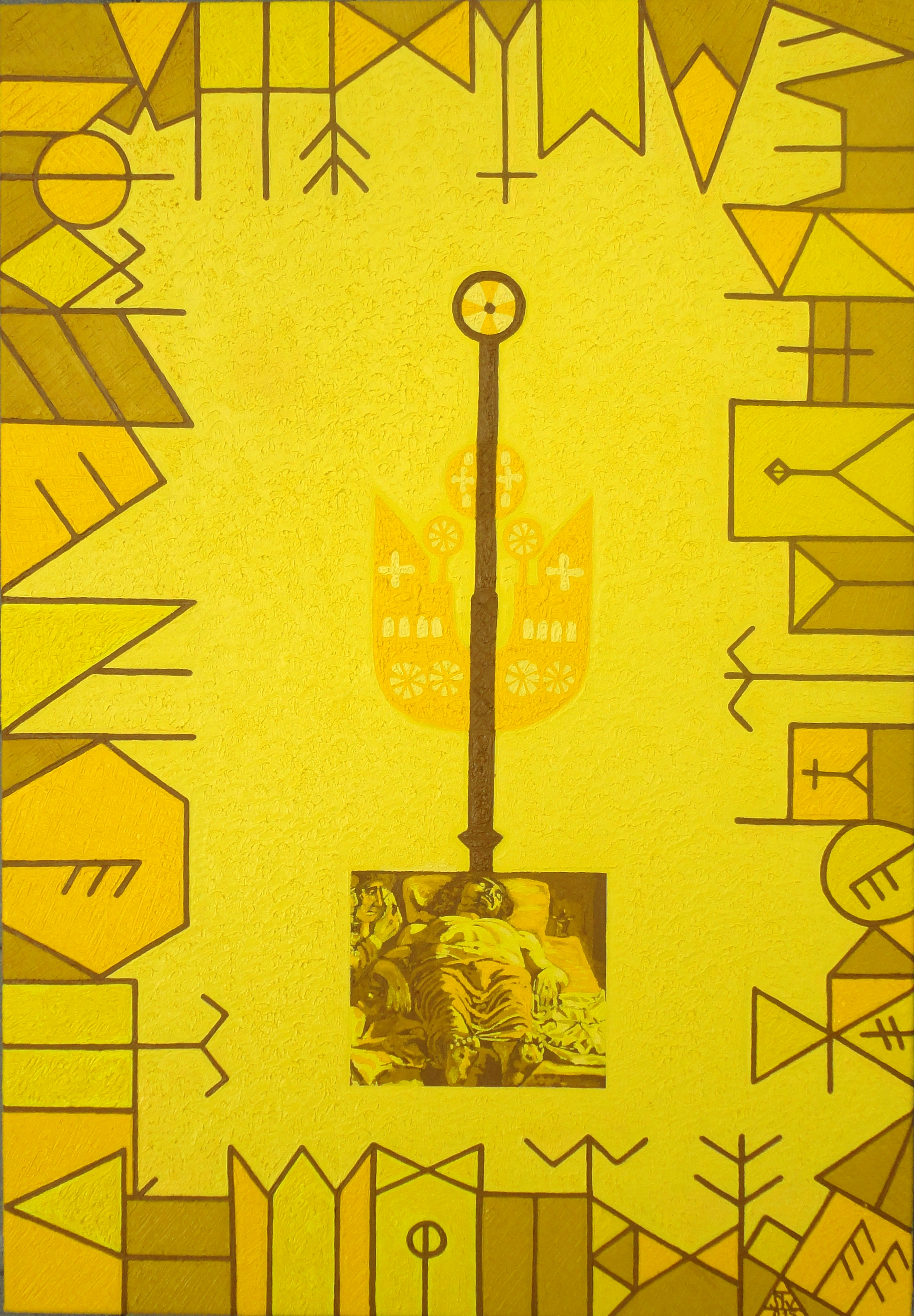 Text and Time 110 artwork by Constantin Severin - art listed for sale on Artplode