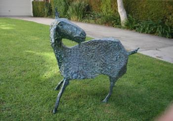 Goats artwork by Daniil Guberav