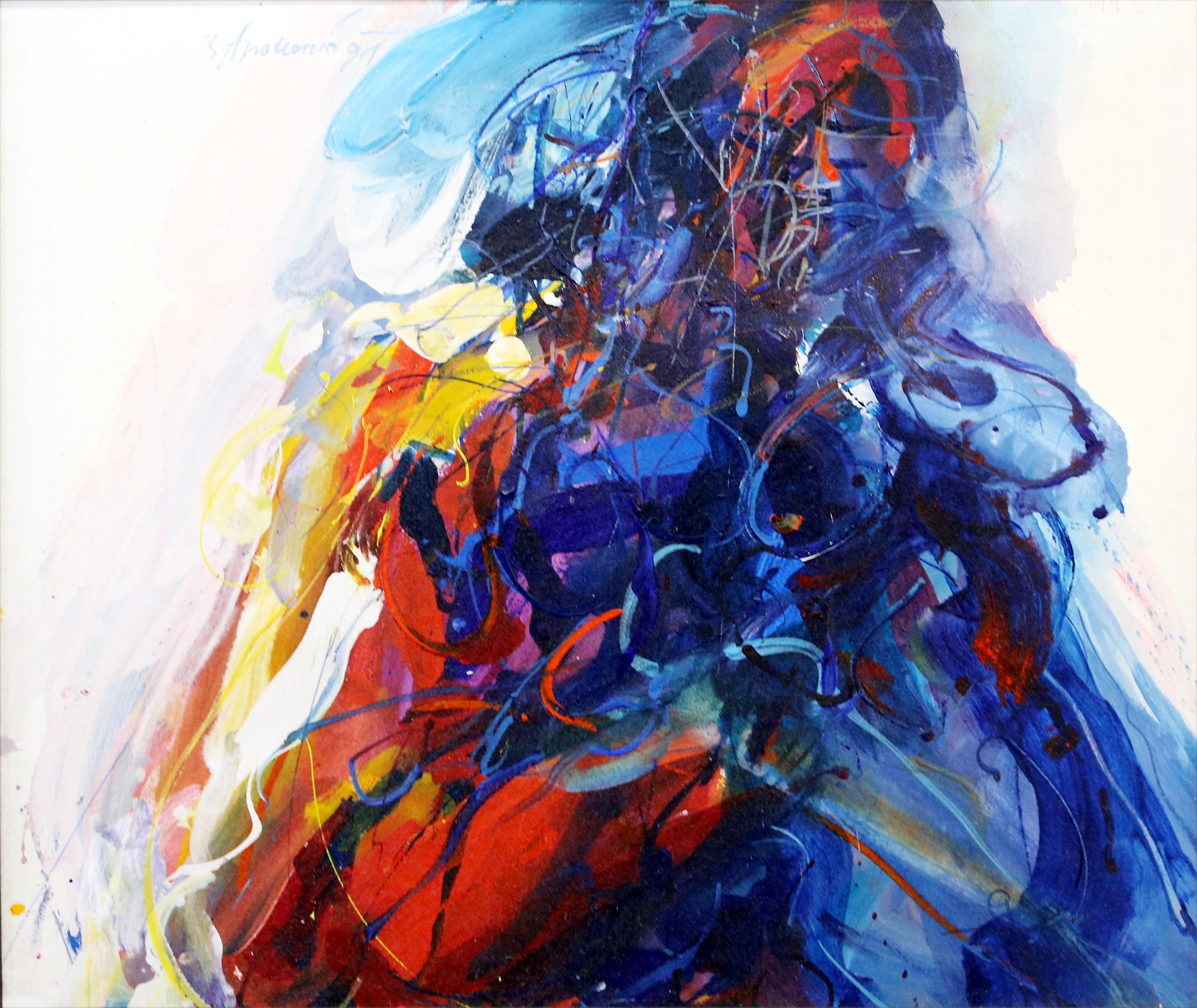 Couple artwork by Zvest Apollonio - art listed for sale on Artplode