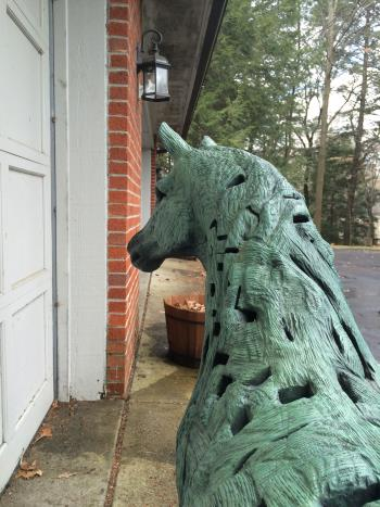 Horse by Michael Stano artwork by Michael Stano