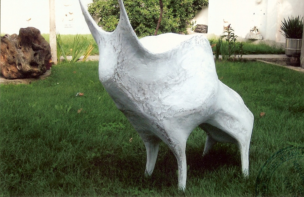 Bull Sculpture artwork by  Celeste - art listed for sale on Artplode