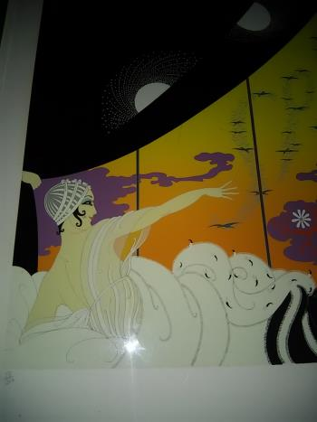 The Coming of Spring, art for sale online by Erte Romain de Tirtoff