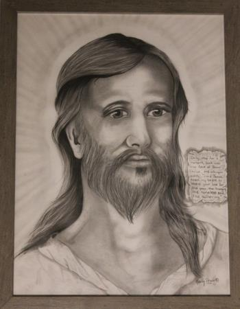 Face of Christ, art for sale online by Randy Drown
